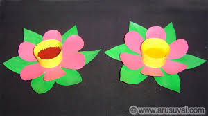 How To Make Chart Paper Flowers