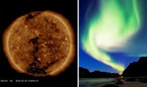 Northern Lights forecast Geomagnetic unrest later tonight could