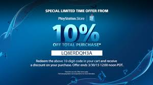 10% Discount Weekend For PS Store Purchases Starts Today ...
