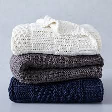 Cable Knit Throw Pottery Barn by Throw Blankets West Elm