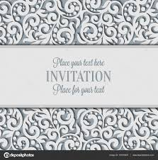 Abstract 3D Background Design Template With Plac E For Text White Simple Lace Shadow Paper Cut Effect Vector By MiaMilky