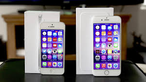 iPhone 5 vs iPhone 6 parison