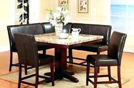 Dining Room Booth Seating Corner Sets Table Set Space