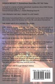 HIDDEN MICKEY 1 Sometimes Dead Men DO Tell Tales Nancy Temple Rodrigue David W Smith 9781938319259 Amazon Books