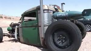 Badass Twin Turbo Rat Rod