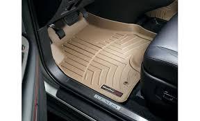 Weathertech Floor Mats Nissan Xterra by Weathertech Digitalfit Floorliners Black Front Pair At