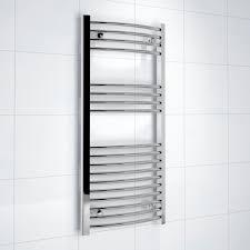 Radiator Cabinets Bq by Kudox Silver Towel Warmer H 1000mm W 450mm Departments Diy