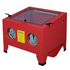Media Blasting Cabinet Lighting by 25 Gallon Bench Top Sandblasts Cabinet Air Sand Blaster Sand Blast