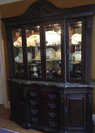 Baker Breakfront China Cabinet by Bernhardt Embassy Row Collection China Cabinet Anderson Dining