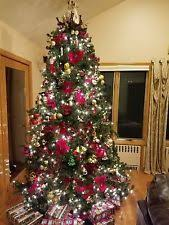 9 Ft Artificial Christmas Tree W Decorations