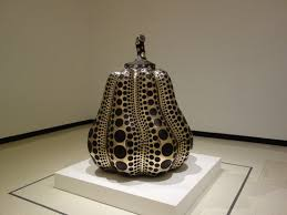 Yayoi Kusama Pumpkin Sculpture by Yayoi Kusama Pumpkin This Is An Entire Room Picture Of