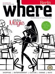 where magazin dezember 2015 by where berlin dinamix media
