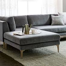 West Elm Paidge Sofa Grand by Andes Collection West Elm
