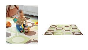 skip hop playspot floor tiles green choc urbanbaby