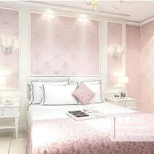 Baby Pink Living Room Modern Continental Stereoscopic Relief Wallpaper Bedroom Background Light
