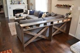 sofa decorative sofa table diy ana white rustic x diy furniture