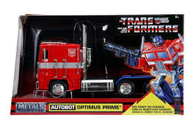 100 Optimus Prime Truck For Sale Jada Diecast Metal 1 24 Scale Transformers G1 For Sale