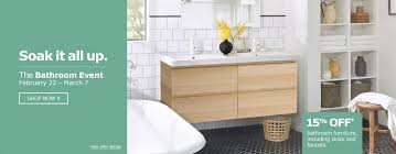 Ikea Bathroom Mirrors Canada by Ikea Canada Bathroom Event Sale Save 15 Off Bathroom Furniture