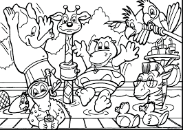 Jungle Animal Coloring Pages Free Printable For Adults Zoo Animals Book Colouring Full Size
