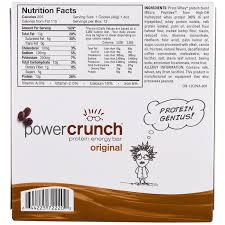 PowerBar Power Crunch Protein Energy Bar Original Mocha Creme