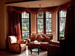 bay window ideas for living room furry white half egg couch and