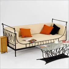 canapé en fer forgé canape fer forge idées de décoration à la maison