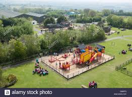 100 Farm Folly An Aerial View Of A Playground At Park And Zoo In Stock