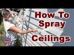 airless paint sprayer for ceilings spraying textured ceilings with an airless paint sprayer painting
