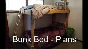 Diy Murphy Bunk Bed by How To Build A Bunk Bed Plans And Cost Youtube
