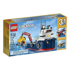 LEGO® Creator - Ocean Explorer (31045) | Walmart Canada Lego Creator Mini Fire Truck 6911 Brick Radar Lego Highway Speedster 31006 31075 Outback Adventures De Toyz Shop Vehicles Turbo Quad 3in1 Buy Online In South Rocket Rally Car 31074 Cwjoost Alrnate Model Of Set High Flickr 6753 Transport Itructions Diy Book 1 Youtube Pictures Expert Fairground Mixer Walmartcom Cstruction Hauler 31005 At Low Prices Creator 31022 Toys Planet 2013 Brickset Guide And Database