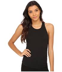 free people high neck muscle tank top in black lyst