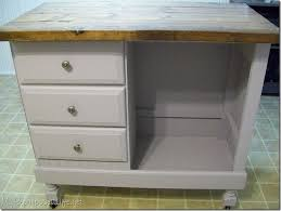 Cheap And Easy Kitchen Island Ideas an island or bar from a desk theses small desks are so cheap and