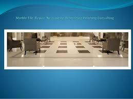 marble tile grout repair clean