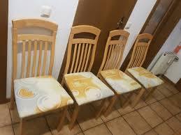 4 esszimmerstühle holz küchestühle essstuh stühle