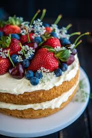 Cakes Decorated With Fruit by The 25 Best Afternoon Tea Ideas On Pinterest Afternoon Cream
