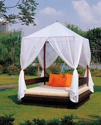 Outdoor Patio Curtains Canada by Beds Patio Canopy Beds Outdoor Bed Plans Swing Sets Outdoor Beds