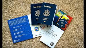 Renewing of U S Passport at the Post fice