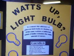 light bulb light bulb science project fifth grade science fair