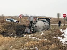 100 Sun Prairie Truck Driving School One Taken To Hospital After Truck Overturns Near WKOW