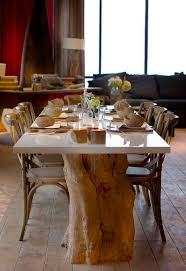 deco tronc d arbre table salle a manger tronc d arbre recherche table