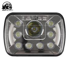Pair 5x7 Inch Square Hi/lo Beam LED Headlights With Halo Light For ... 52017 F150 Anzo Led Switchback Outline Projector Headlights Mack Rd Ch Sfa Some Sba Freightliner Mt Rv Utilimaster Penske Makes Trucklite Standard For United Pacific Industries Commercial Truck Division Round Sealed Low Beam Headlamps Pair Set Chevy Pickup Land Cruiser Fj40 Fj55 Minitruck Of 2 Xenon Headlights American Truck Simulator Smoked Black 1116 Ford Super Duty Halo Gorecon Pair Cree H6054 7x6 Toyota 4piece Signal Marker Lamps Replacement Gmc Next Generation Scania With Shing Editorial Purple Volvo Fh Semi Trailer Stock Image