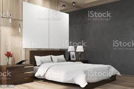 schwarz und aus holz schlafzimmer plakate seite stockfoto und mehr bilder beton