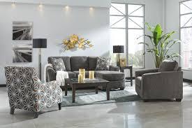 Ashley Hodan Microfiber Sofa Chaise by Slate Fabric Sofa Chaise With Optional Sleeper