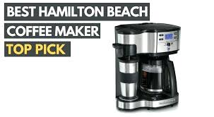 How To Clean Hamilton Beach Coffee Maker Best
