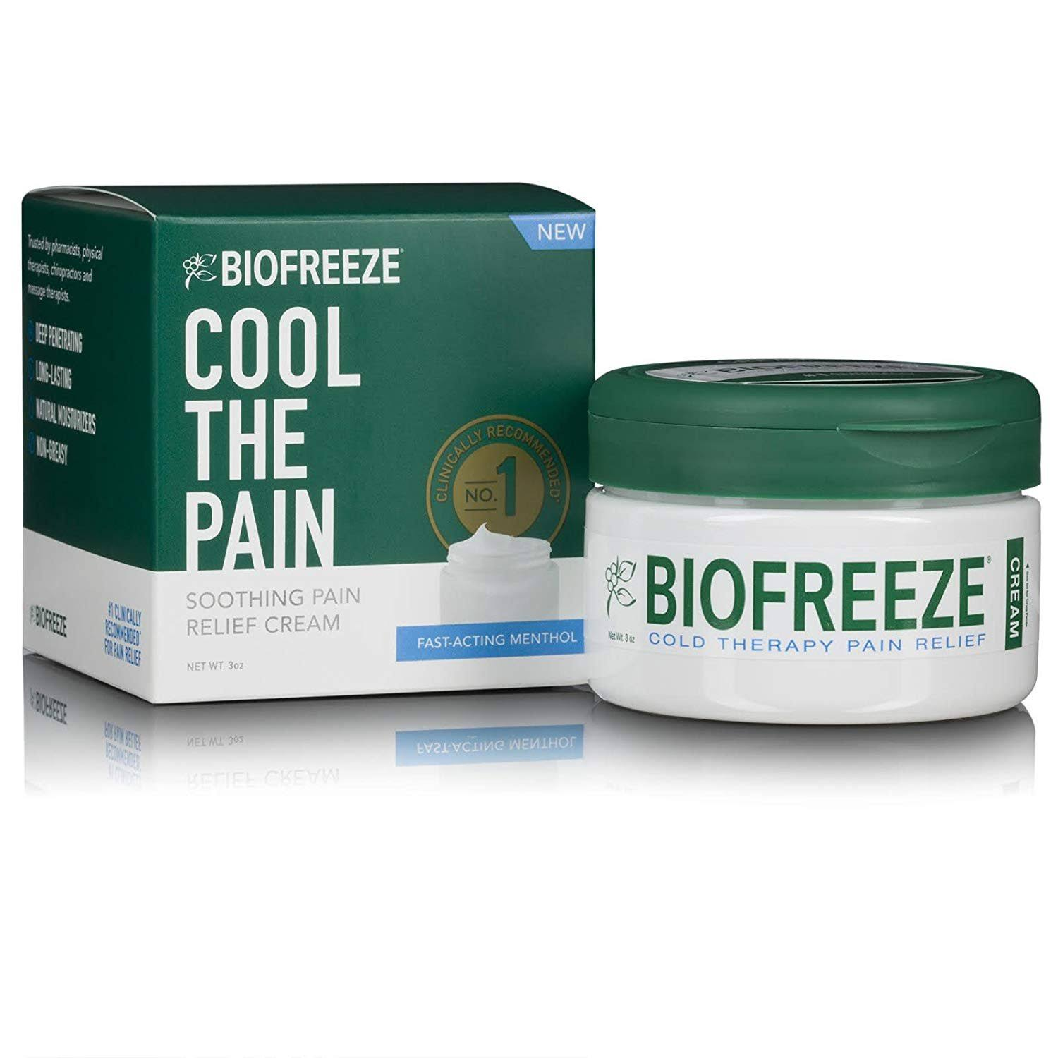 Biofreeze Soothing Pain Relief Cream - 3oz