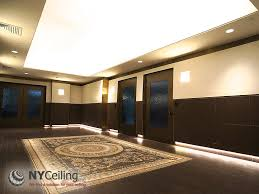 Translucent Stretch Ceiling Installation With LED Backlight