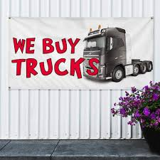 100 We Buy Trucks Amazoncom Vinyl Banner Sign 1 Business Vehicle