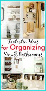 11 Space Saving Ideas For Your Small Bathroom 11 Fantastic Small Bathroom Organizing Ideas See How You