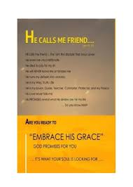 Embrace His Grace