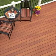 horizontal pressure treated deck boards stained with defy extreme